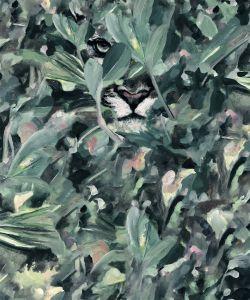 Papel pintado Hidden Puma Winter