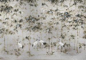 Mural Garzas Silver