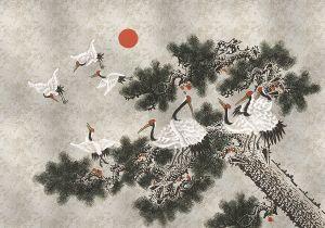 Mural Ukiyo Silver