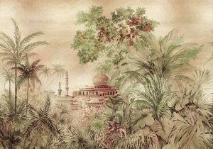 Mural Taj Majal Gold