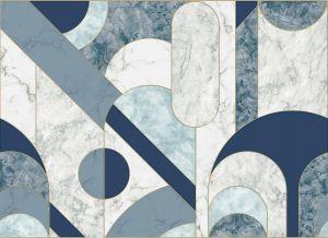Mural Capsules Blue
