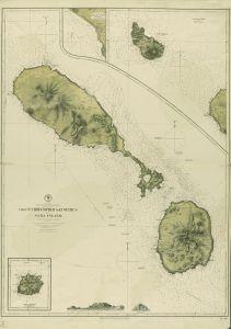 Mural Mapa Saba Island