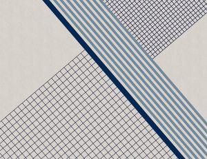 Mural Ixent Blue