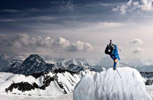 Mural Esquí en lo más Alto