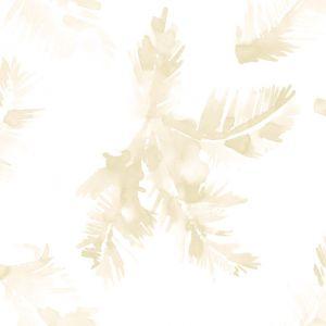 Papel hoja palmera beige