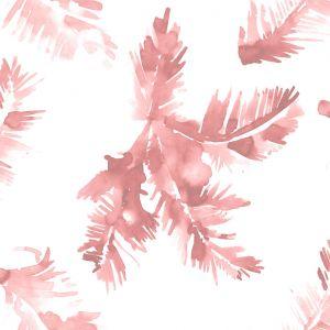 Papel hoja palmera rosa