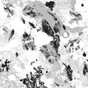 Papel Pintado Pollock Silver