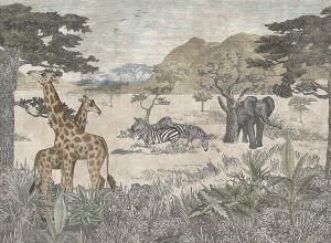 Papel pintado Serengeti