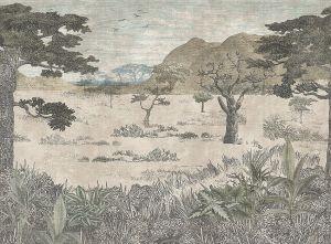Papel pintado Serengeti Savannah