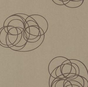 Papel pintado Spin Latón