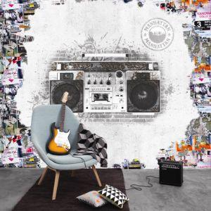 Mural Radiocasette