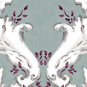 Papel pintado Ornamental Alga