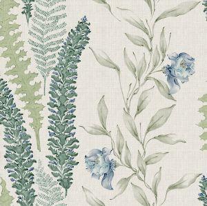 Papel pintado Floral Alga