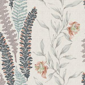 Papel pintado Floral Tierra