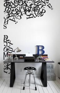 Alphabet Mural