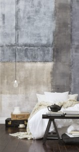 Cement layers mural
