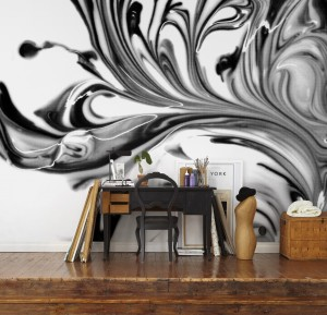 Abstracts mural