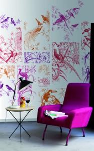 Tres Tintas Tangle Mural