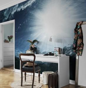 Mural Sea Sunlight