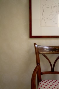 Suzani beige N wallpaper