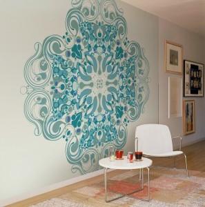 Trementino Icon Aqua Mural