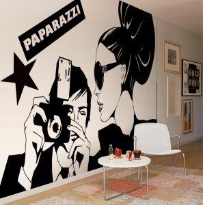 Paparazzi Mural