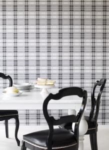 Grey Tartan Wallpaper