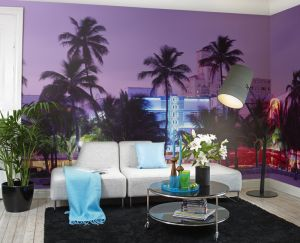 Miami Vice Mural
