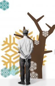 Cold Tree Mural 1