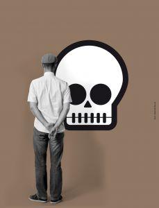 Blind Skull Mural
