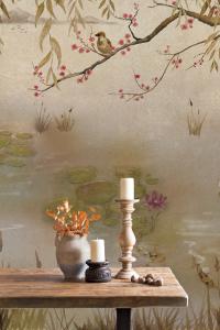 Mural Lotus Aloe