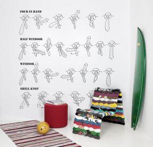 tie your tie mural