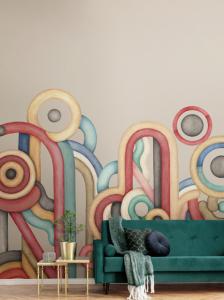 Caligrama M3401-1 mural