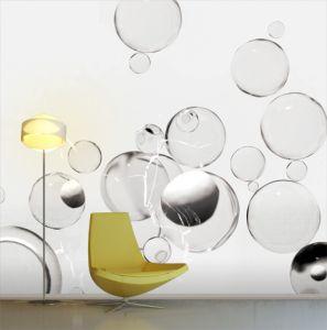 bubbles mural