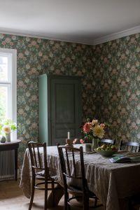 Dahlia Garden 7665 wallpaper