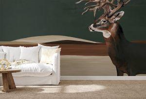 Mural Great Deer Nude