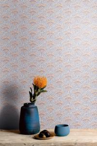 Callaia Strelitzia wallpaper