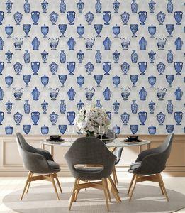 Porcelaine Cobalt wallpaper
