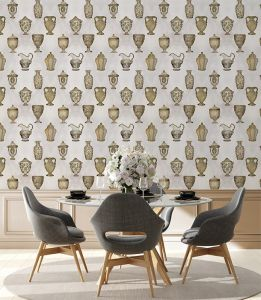 Porcelaine Bronze wallpaper