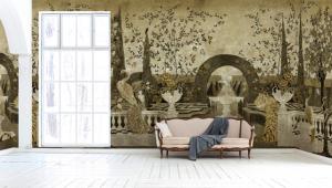 Mural Dédale Gold