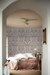 Ornamental Plata wallpaper