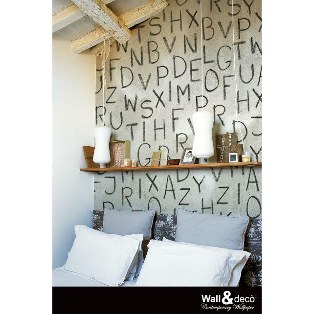 Whispers Black Mural 1