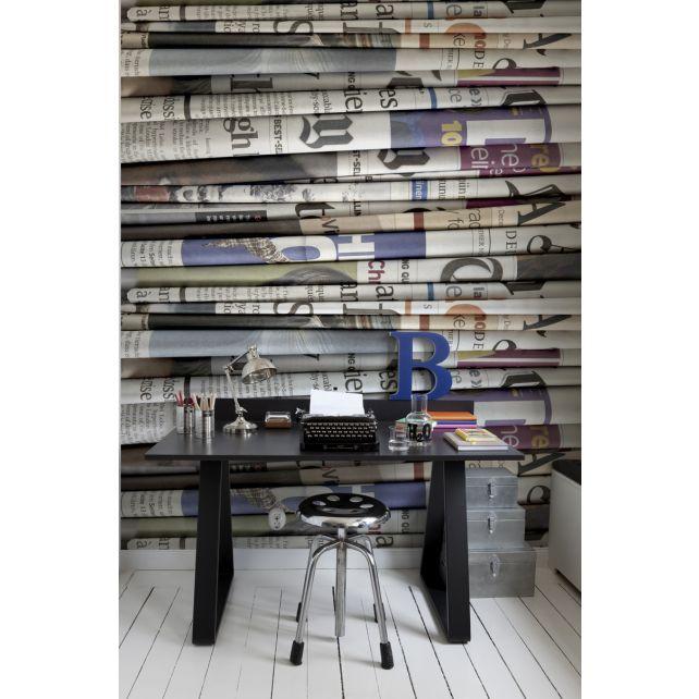 Newspaper Mural
