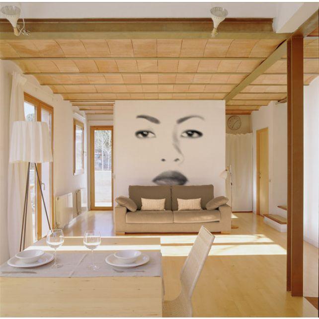 Oriental Face Mural 2
