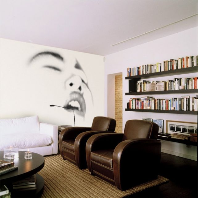 Oriental Face Mural 5