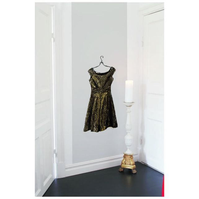 Lace Dress Mural