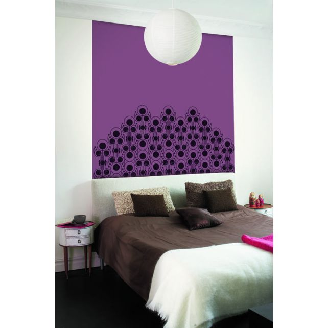 Jewel Bed Mural