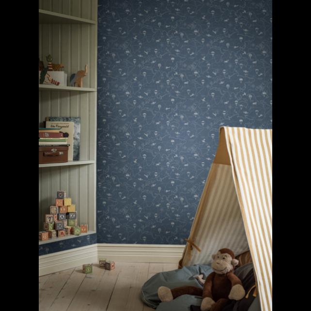 Adventures Blue wallpaper