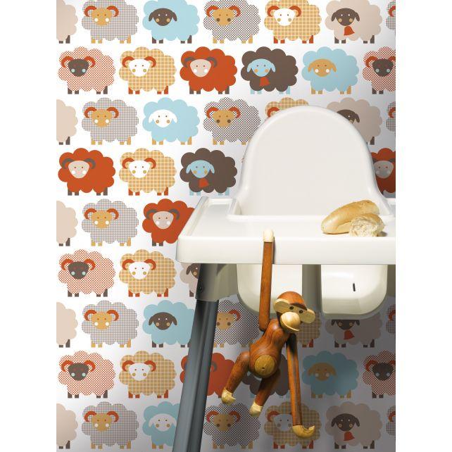 Red Sheep Wallpaper