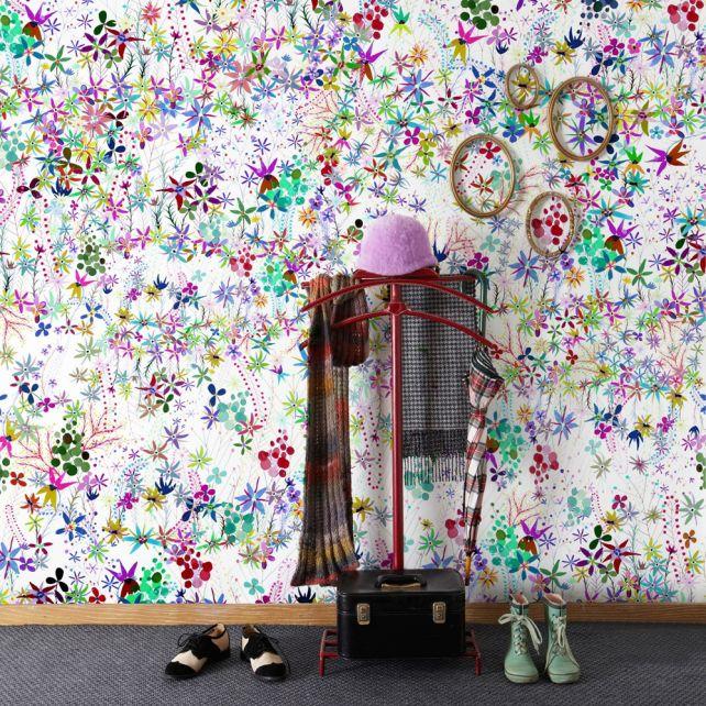 Mural Spring Flowers